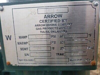 75 Hp Arrow Single Stage Gas Compressor