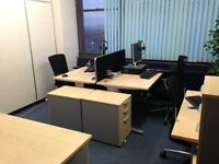 OFFICE SPACE FOR FOUR IN SALFORD MANCHESTER IN WELL KNOWN BUILDING. NEXT TO TESCO AND TRANSPORT