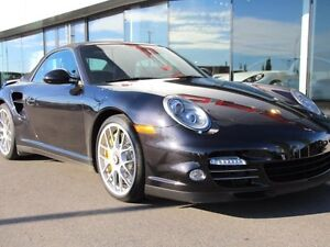 2012 Porsche 911 Local Edmonton 911 Turbo S Cab with only 11,800