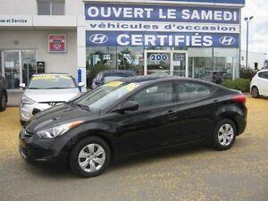 2013 Hyundai Elantra L ** Jamais accidenté, un seul propriétaire