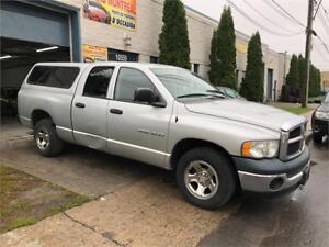 2004 DODGE RAM 1500 **PROPRE TRANSMISSION MANUELL AC/MAGS