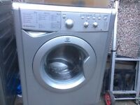 £97.00 Indesit grey washing machine+6kg+1200 spin+3 months warranty for £97.00