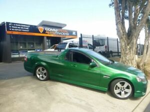 2011 Holden Ute VE II SV6 Green 6 Speed Manual Utility