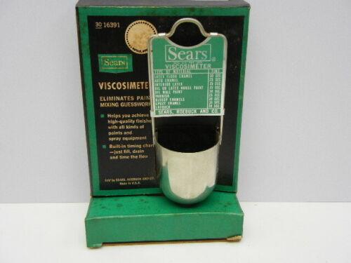 Vintage Viscosimeter by Sears Roebuck - painters tool w
