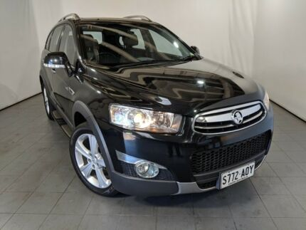 2012 Holden Captiva CG Series II 7 AWD LX Black 6 Speed Sports Automatic Wagon Elizabeth Playford Area Preview