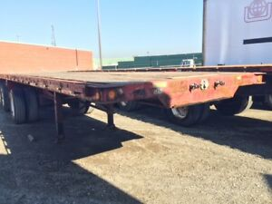 MANAC 5 AXLE FLATBED TRAILER FOR SALE!