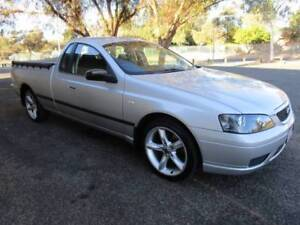 BF Falcon Ute Lightning Strike Silver with ROH Alloy LOW KMS