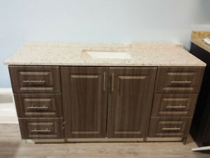 Vanity with Quartz top