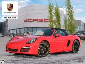 2014 Porsche Boxster CERTIFIED PRE-OWNED | Manual | Convenience