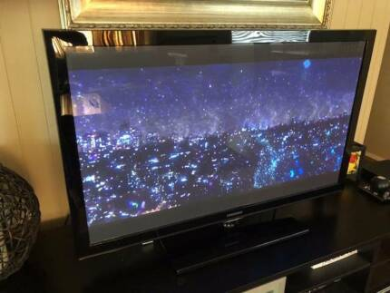 Samsung 50in Plasma digital television, very good used condition