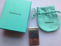 Tiffany & Co Plaid Money Clip in Sterling Silver for sale