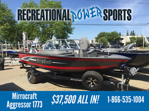 MIRROCRAFT AGGRESSOR 1773 ULTIMATE FISHING BOAT!