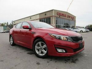 2015 Kia Optima LX, ALLOYS, A/C, BT, HTD. SEATS, 49K!