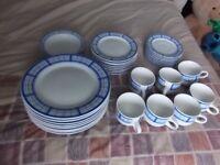 35 piece crockery set
