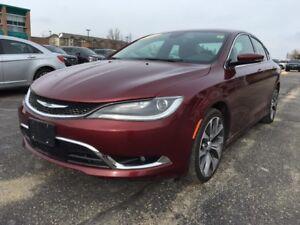 2016 Chrysler 200 C from $190 b/w