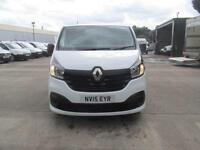 Renault Trafic Sl27dci 115 Business+ Van DIESEL MANUAL WHITE (2015)