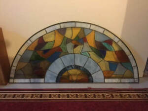 Stained Glass Semi Circle