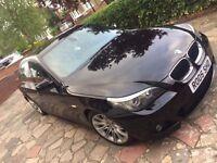 BMW 520M SPORT BLACK, MANUAL 2008 FULL SERVICE HISTORY 2008