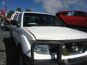 2011 Nissan Navara White Automatic Mount Pleasant Mackay City Preview