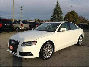 2009 Audi A4 2.0T Quattro|SUNROOF|LEATHER|NO ACCIDENTS