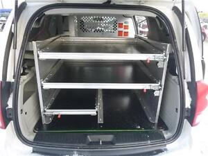 Custom Built 2011 Dodge Grand Caravan C/V Shelving Work Van Edmonton Edmonton Area image 13