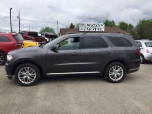 2016 Dodge Durango Limited* Loaded!  3rd row seating!!!!!