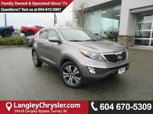 2013 Kia Sportage EX <b>*LOCAL*DUAL ZONE CLIMATE*HEATED SEATS...