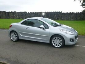 2011 PEUGEOT 207 CC GT HDI 1.6 ONLY 52000 MILES FINANCE AVALIABLE