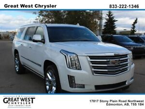 2017 Cadillac Escalade ESV Platinum Sunroof Massaging Drivers Se