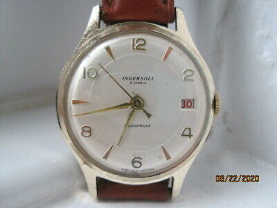 Vintage 50's Ingersoll/Smith's British Made Gold Plated Gents Watch.