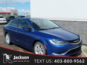 """2015 Chrysler 200 Limited - 8.4"""" Touchscreen, Sunroof"""