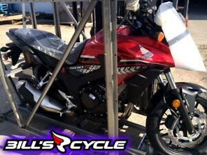 2017 HONDA On Road CB 500 XASH    Adventure Red