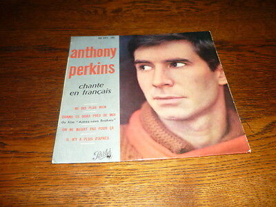 ANTHONY PERKINS EP FRANCE BORIS VIAN HENRI SALVADOR