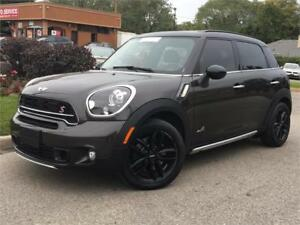 2015 Mini Cooper S Countryman AWD-PANO-NAVI-LEATHER-HEATED-BACKU