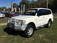 2002 Mitsubishi Pajero NM Commonwealth Games Ltd Ed White 5 Speed Auto Sports Mode Wagon Clontarf Redcliffe Area Preview