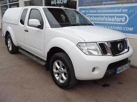 Nissan Navara 2.5dCi King Cab Pickup Acenta F/S/H 1 Owner from new !!! NO VAT !!