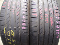 225/45/18 Continental SportContact 5, BMW Runflat x2 A Pair, 5.7mm (168 High Road, Romford, RM6 6LU)