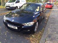 2015 (15 reg) BMW 320D M Sport X drive in Black for sale.