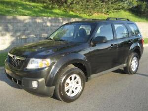 2011 MAZDA TRIBUTE GX AWD (AUTOMATIQUE, 2.5L, AIR, MAGS, FULL!)