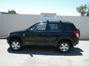 2006 Suzuki Grand Vitara JT Prestige (4x4) Black 5 Speed Automatic Wagon Windsor Gardens Port Adelaide Area Preview