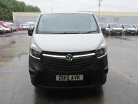 Vauxhall Vivaro 2900 L2 H1 1.6Cdti 115PS Van DIESEL MANUAL WHITE (2015)