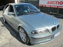 2001 BMW 320i E46 Green 5 Speed Auto Steptronic Sedan West Perth Perth City Preview