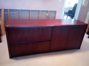 Large office credenza