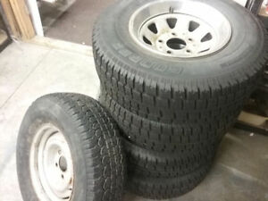 Winter Tires - 235/75/R15