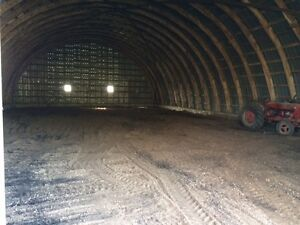 Large farm quonset for rent Birch Hills