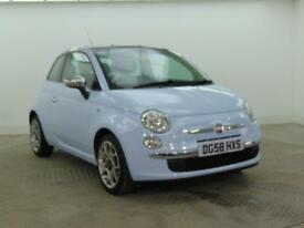 2008 Fiat 500 LOUNGE Petrol blue Manual