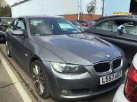 2007 BMW 320D 3 SERIES 2.0 SE COUPE DIESEL MANUAL LONG MOT GREAT DRIVE GREY NOT 1 5 A3 A5 C CLASS
