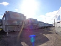 NEW 2015 OPEN RANGE FIFTHWHEELS AND TRAVEL TRAILERS