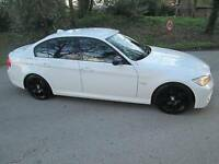 BMW 3 SERIES 2.0 318d M Sport 4dr (white) 2010