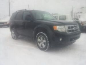 2011 FORD ESCAPE XLT AUTOMATIC 2.5L 4 CYL. CUIRE ,MAGS !